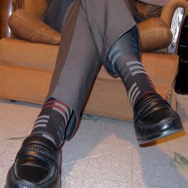 calze, scarpe, pantaloni
