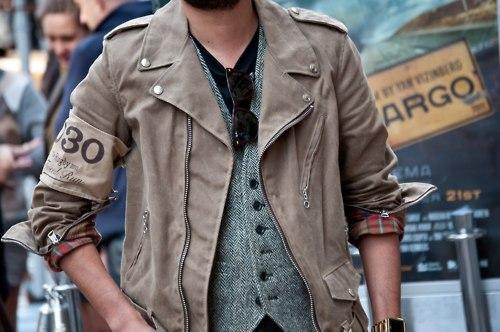 Men's Suede Jacket