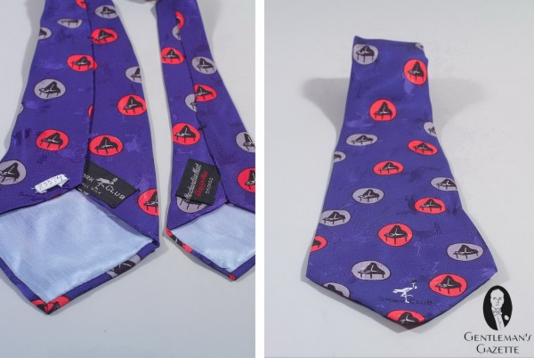 Printed-Jacquard-Silk-tie-made-by-Merchandise-Mart-for-the-society-night-club-Stork-Club-in-New-York-600x402