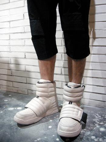 High-rise sneakers