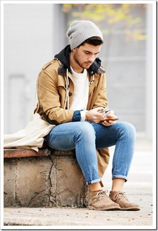 Men wearing desert boots