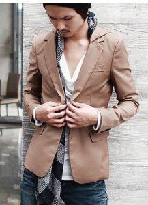tan blazer for summer