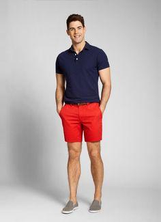 red-chino-shorts