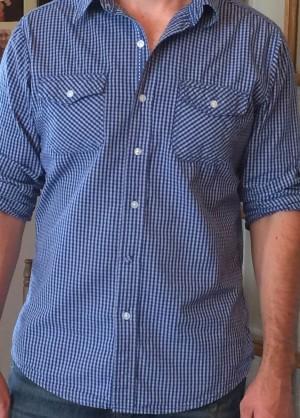 Blue-Gingham-Shirt