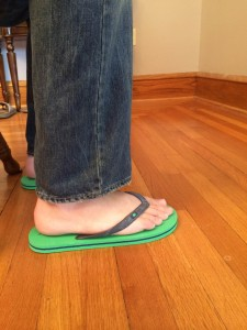 Red-Camel-Flip-Flops-With-Jeans