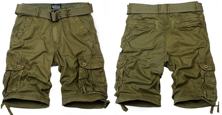 Camo shorts are a great way to dip your toes into the camouflage world...