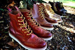 Winter boots for men - Wingtip Brogues