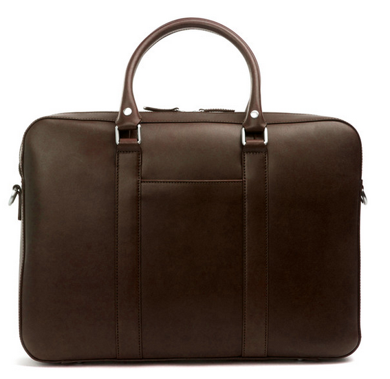 Leather Briefcase Upclose