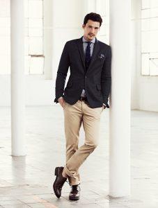 Man in smart casual look