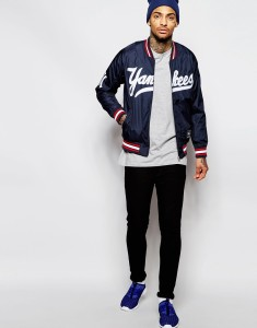 Varsity Jacket+Baseball Shirt+Track Pants