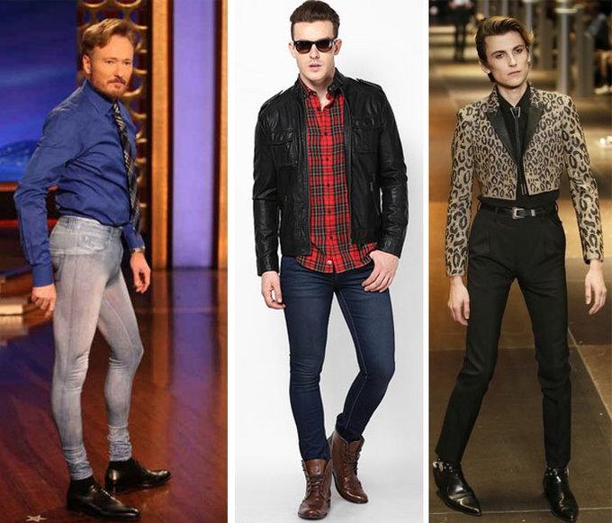why men should not wear skinny jeans