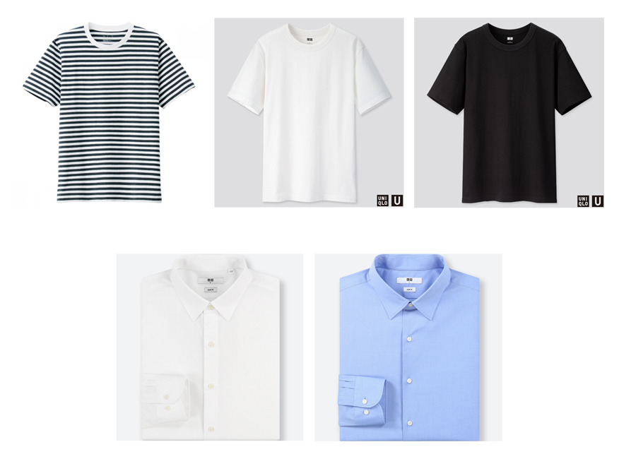 Minimalist men's shirts